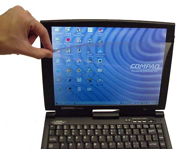 15inch laptop of flat panel